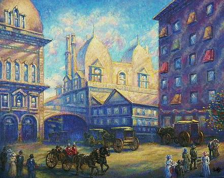 Old New York by Raffi  Jacobian