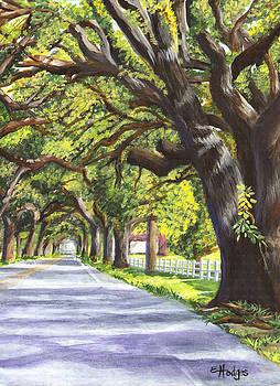 Old Oak Tree by Elaine Hodges