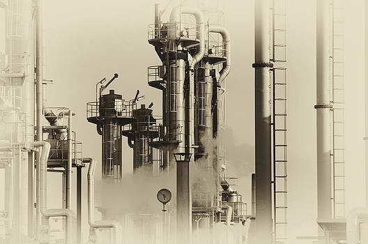Old Oil And Gas Refinery by Christian Lagereek