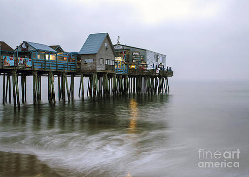 Old Orchard Beach Pier by Kimberly Nyce