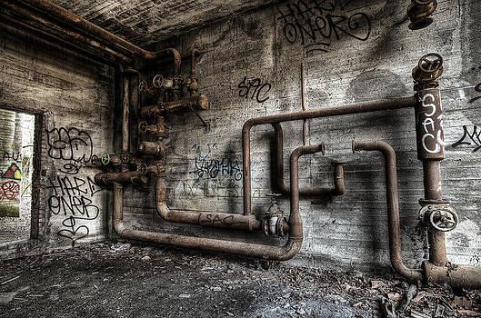 Old pipes by Tommaso Di Donato