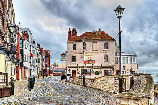 Old Portsmouth by Trevor Wintle