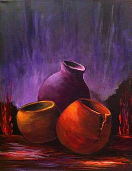Old Pots 2 by Bozena Zajaczkowska