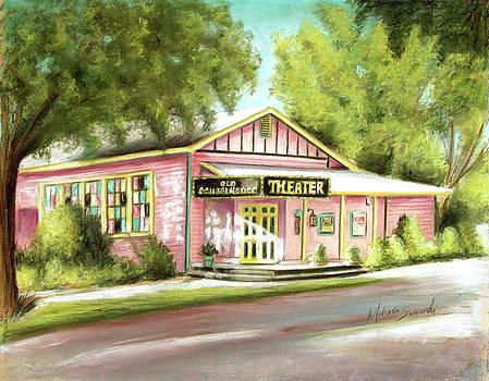 Old Schoolhouse Theater on Sanibel Island by Melinda Saminski
