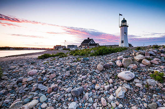 Old Scituate Light by Lee Costa