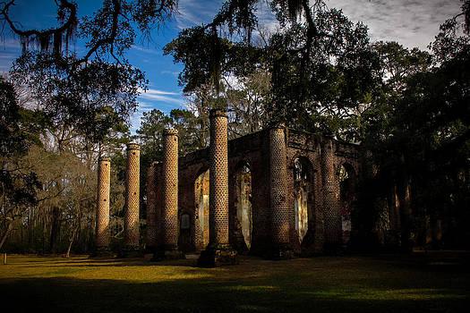 Old Sheldon Ruins by Jessica Brawley