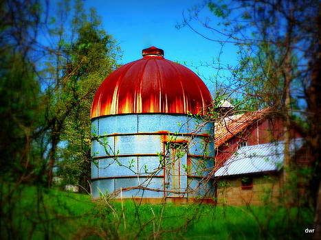 Old Silo by Denny Ragan