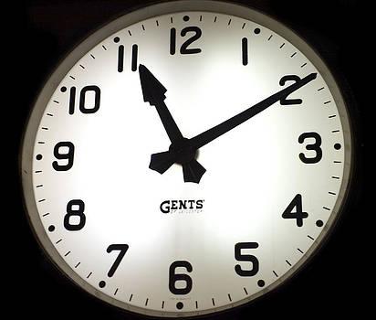 Old Station Clock by Beata Dagiel