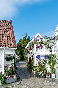 Old Stavanger Norway by Kay Price