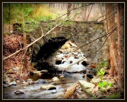 Old Stone Bridge - bordered by Linda Seifried