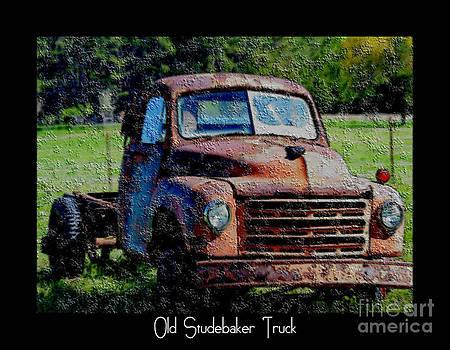 Old Studebaker Truck by Eva Thomas