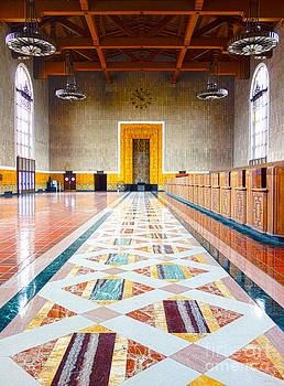 Old Ticketing Hall - Union Station - Los Angeles - HDR by Pete Edmunds