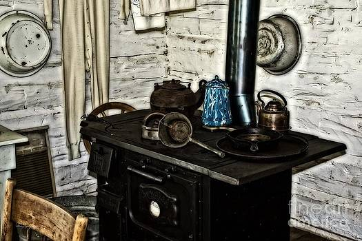 Old Time Kitchen Stove by Ms Judi