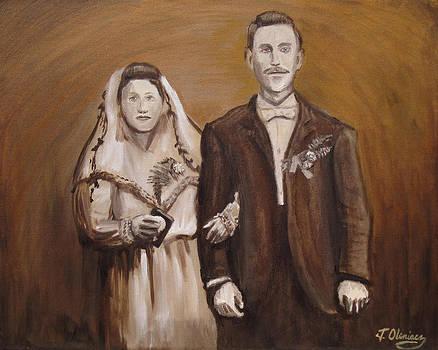 Old-Time Polish Wedding Portrait by Jeffrey Oleniacz