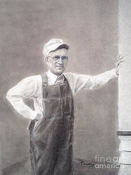 Old-timer in Overalls by Mary Lynne Powers