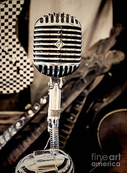 Old Timey Microphone by Photo Captures by Jeffery
