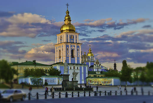 Old town cathedral by Valerii Tkachenko