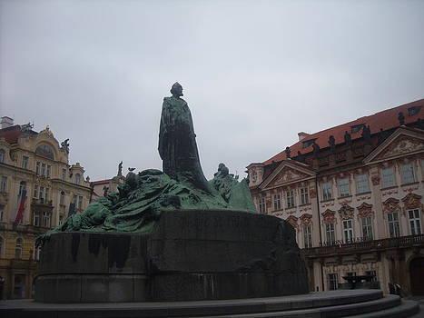Old Town Square  Staromestske namesti by Branko Jovanovic