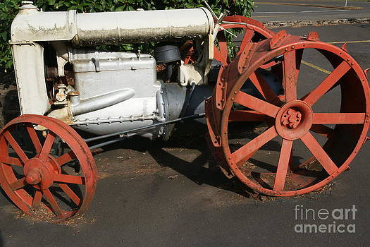 Old Tractor 1 by Walter Strausser