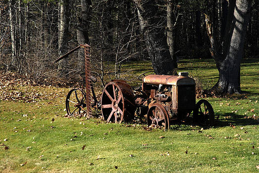 Old Tractor by Donna Desrosiers