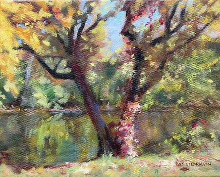 Old Tree by the River by Bonnie Mason