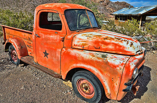 Old Truck 3 Nelson NV by Arnold Despi