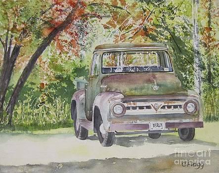 Old Truck by Carol Flagg