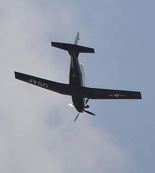 Old USAF Prop Plane by Stefon Marc Brown