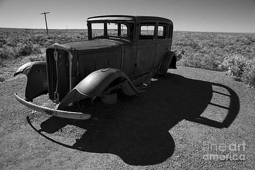 David Gordon - Old Vehicle VI BW