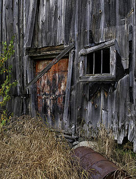 Thomas Schoeller -  Rustic Barn of the Maine Woods