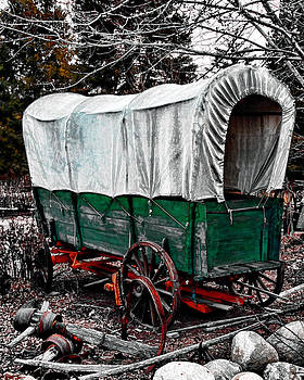 William Havle - Old West Covered Wagon