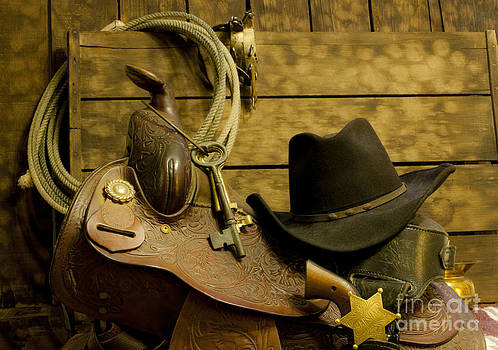 Old West Marshal by Ron Hoggard