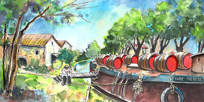 Miki De Goodaboom - Old Wine Barge by Narbonne