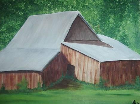 Old Wood Barn by Melanie Blankenship