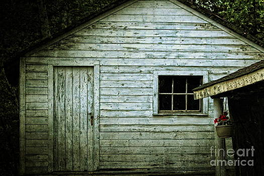 Old Wooden Building Onaping by Marjorie Imbeau