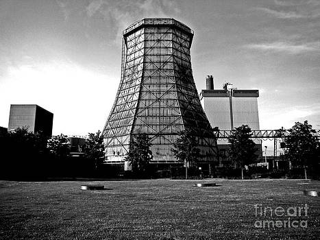 Old Wooden Cooling Tower by Andy Prendy
