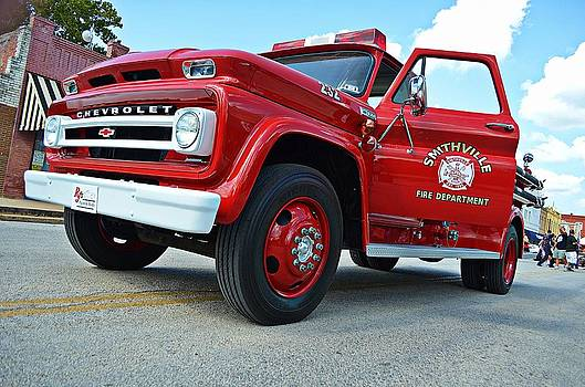 Ole Time Fire Truck by Kelly Kitchens