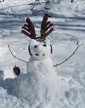 Oliver's Snowman by Jean Blackmer