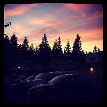 Olympia Sunset by Virginia Cortland