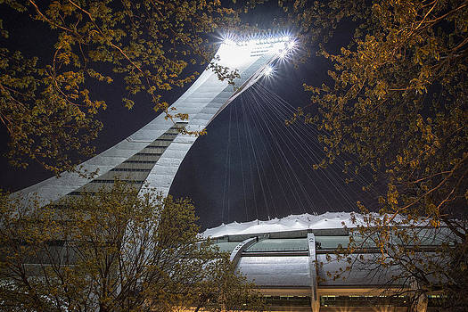 Olympic Stadium Montreal by Ron Harris