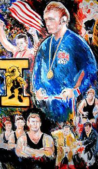 Jon Baldwin  Art - Olympic Wrestling Must Stay