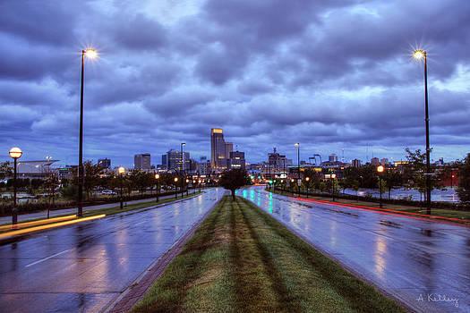 Omaha - Abbott Drive by Andrea Kelley