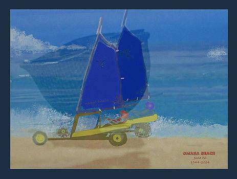 Omaha Beach by Herbert French