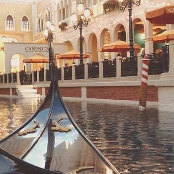 On A Gondola Ride In The Venetian In by Vivienne Gucwa