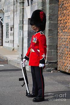 Edward Fielding - On Guard Quebec City