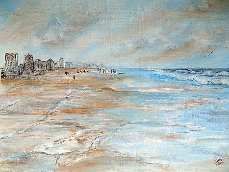 On the Beach by Dorothy Maier