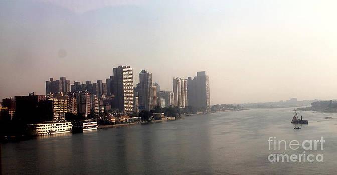 On The Nile River by Jason Sentuf