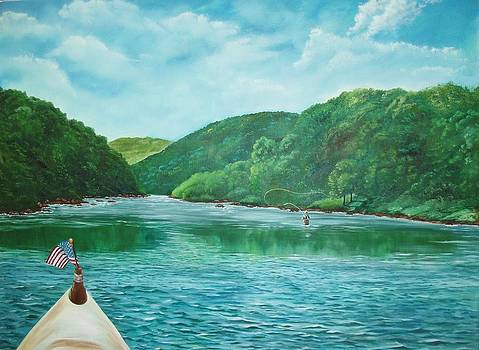 On the River by Brenda Swonger