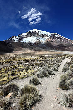 James Brunker - On the Trail to Sajama Volcano
