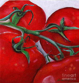 On The Vine Tomato  by Mary Hughes
